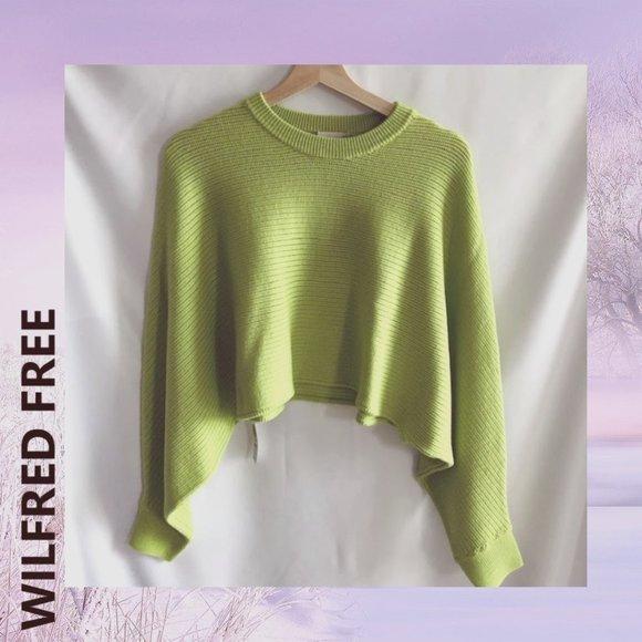 NWT WILFRED FREE ARITZIA Lolan Sweater